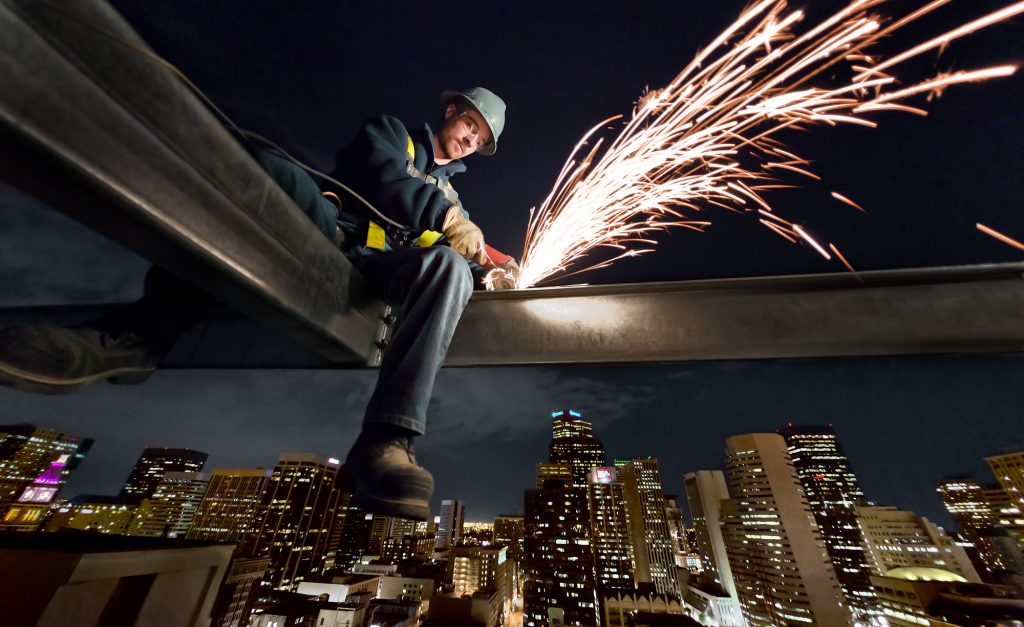 Iconic Image of the Modern American Tradesman Taken by Professional Industry Photographer, Tyler Stableford.