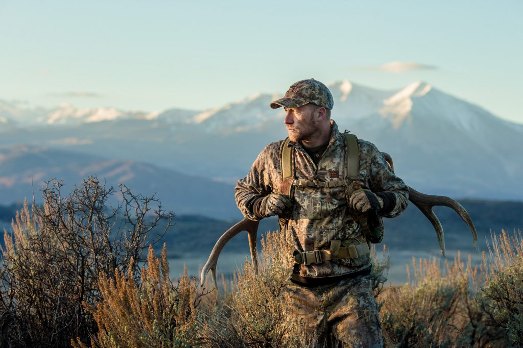 Technical Camo Clothing and Advanced Hunting and Tracking Gear is Essential for Successful Expeditions in the Rugged Rocky Mountains.