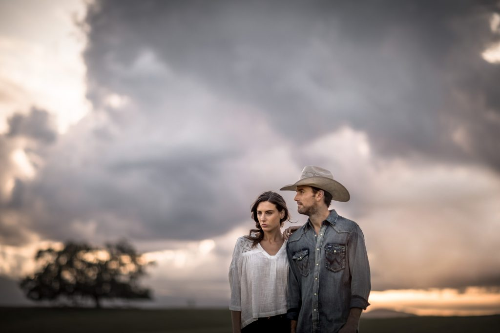 In This Photo Series for Wrangler Brand Western Wear, The Wide Open Spaces of Western Ranch Land Make an Iconic Background.