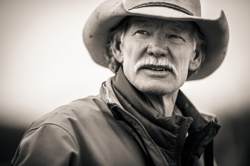 Western Lifestyle Photgrapher, Tyler Stableford, Captures the Image of Rugged Western Living with this Fine-Art Portrait.