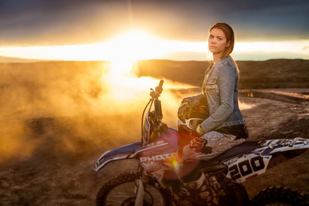Top Photographer Tyler Stableford Took this Dramatic Photo of an Extreme Dirt Biker Near Grand Junction, Colorado.
